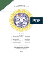 Resume The COSO Internal Control Framework