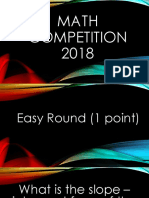 math competition 2018