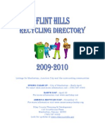 2009-2010 Recycling Directory