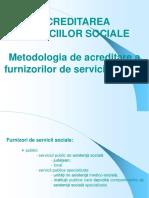 acreditarea serviciilor sociale