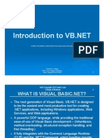 Introduction to VB