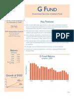 TSP G Fund