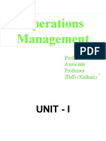 V.P. Arora Operations Mgmt