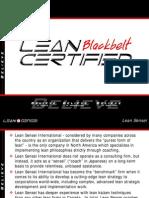 Blackbelt Certification Information