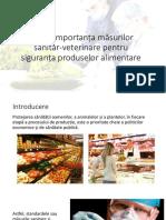 prezentare importanta controlului produselor alimentare