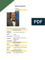 Carlos Alcantara Biografia