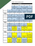 Horarios Ciencias Economicas- 2020-1-2