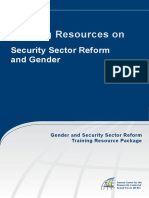 1. Training Resources-SSR and Gender