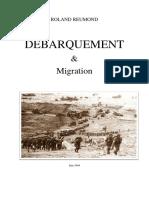 ROLAND REUMOND Débarquement Et Migration 2020