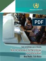 Guía Docente Tecnologías del Aprendizaje y la Comunicación