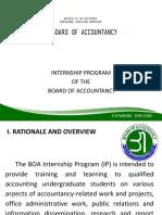 BOA  Intership Program ppt