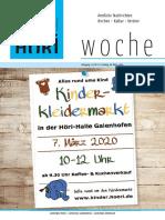 Höriwoche KW10
