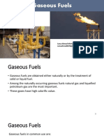 Lecture 12,14,15 Gaseous Fuels