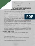 DCI boss George Kinoti's statement