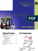 Jaime V. Ongpin Foundation, Inc. FY 2009-10Annual Report