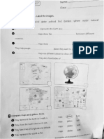 Test unit globes and maps 3EP