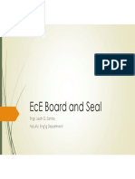 EcE Board and Seal