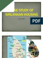 Case Study of Sri-lankan Housing