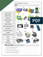vocabulary-matching-electronics