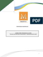 TDR TECNICO METROLOGO DE BALANZAS - REG. SANTA CRUZ
