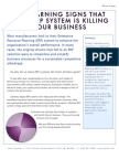 10 Warning Signs That Your ERP System is Killing Your Business