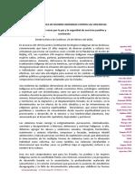 Declaración VIII Encuentro Continental ECMIA