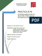 [PDF] 378885417 Informe 6 Funcionamiento de Un Reactor Tubular en Estado Estacionario_compress