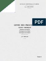 Génie des procèdes, génie chimique, réacteurs chimiques, échangeurs de chaleur, échangeurs de matière.pdf
