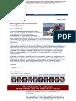 12 Metre Yacht Club Newsletter February 2020- Rev 030520