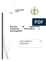 DOCUMENTO II Memoria