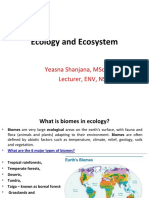 LAb_Ecology and Ecosystem