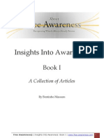 Insights Into Awareness - Book I - A Collection of Articles