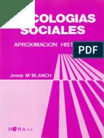 1982BlanchJMPsicologiasSociales