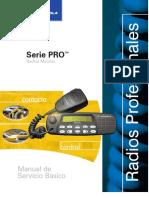 Manual Servicio Basico PRO5100