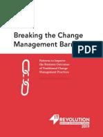 Breaking Change Management