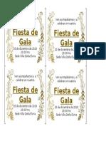 invitacion gala
