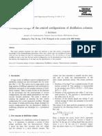 0255-2701(94)03000-6 Control configuration of distillation columns