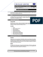 Hr Policy Guidelines 2009
