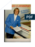 Richard Clay Der Man - 40 Partitions Inoubliables