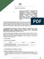 Edital n 378 VRGDI 2019 - Procedimentos de Matrícula de Calouro Cursos de Graduação Presencial 2020-1