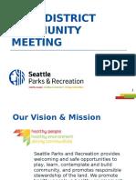 March Park District Community Meeting PPT