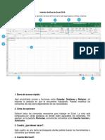 Elementos de Excel 2016
