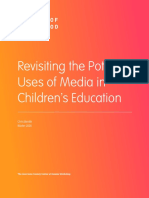Uses of Media in Children's Education | Joan Ganz Cooney Center at Sesame Workshop