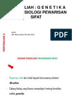 PPT-GENETIKA-PERTEMUAN 1