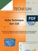 TECNISUN SUN110 Plaquette Technique 090310