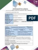 Guía de actividades y rúbrica de Evaluacion - Paso 1 - Reflexion