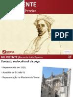 Gil Vicent e Farsa de Inês Pereira Areal.pptx