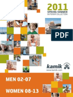 Kamik Sommer Outdoor Catalog