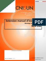 TECNISUN-SUN200-Manuel d'installation-Extention 45°-09112010