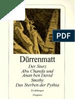 Duerrenmatt Friedrich Der Sturz Abu Chanifa Und Anan Ben David Smithy Das Sterben Der Pythia